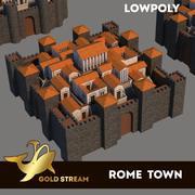 Rome town 3d model