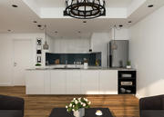 Cozinha Branca 3d model