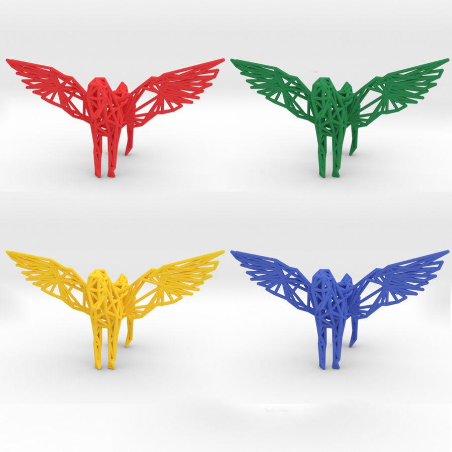 Pegasus royalty-free 3d model - Preview no. 5