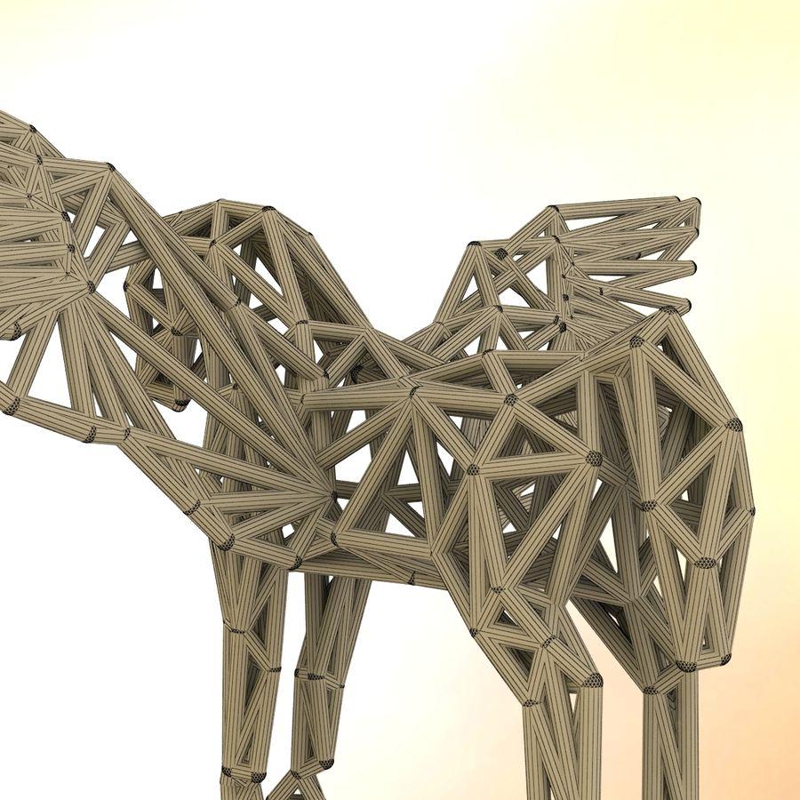 Pegasus royalty-free 3d model - Preview no. 9