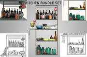 Kitchen Bundle VOl 1 3d model