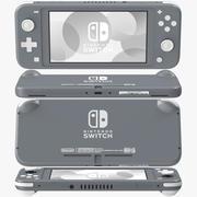 Nintendo Switch Lite - Gris 3d model