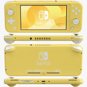 Nintendo Switch Lite - Jaune 3d model