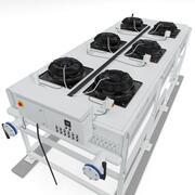 Chiller Air Cooler Radiator 3d model