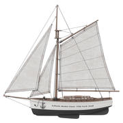 Authentic Models Classic 1930s Yacht 3d model