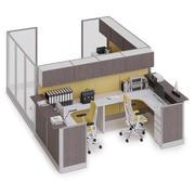 Herman Miller Action Office System v1 3d model