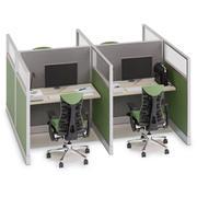 Herman Miller Action Office System v3 3d model