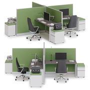 Herman Miller Action Office System v5 3d model