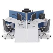 Herman Miller Action Office System v10 3d model