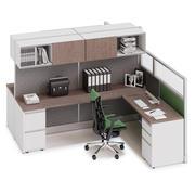Herman Miller Action Office System v12 3d model
