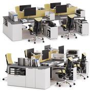 Herman Miller Layout Studio v2 3d model
