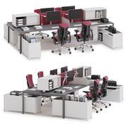 Herman Miller Layout Studio v3 3d model
