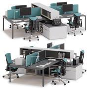 Herman Miller Layout Studio v4 3d model