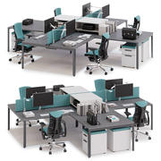 Herman Miller Layout Studio v7 3d model