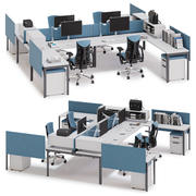Herman Miller Layout Studio v8 3d model