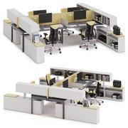 Herman Miller Layout Studio v9 3d model