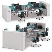 Herman Miller Layout Studio v10 3d model