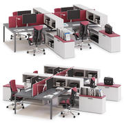 Herman Miller Layout Studio v11 3d model