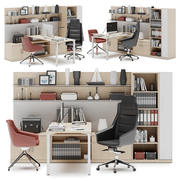 Herman Miller Canvas Private Office v1 3d model
