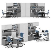 Herman Miller Canvas Private Office v2 3d model