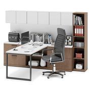 Herman Miller Canvas Private Office v3 3d model