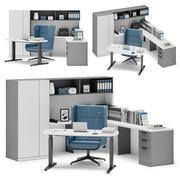 Herman Miller Canvas Private Office v4 3d model