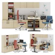 Herman Miller Canvas Private Office v5 3d model