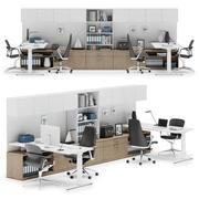 Herman Miller Canvas Private Office v6 3d model