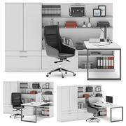 Herman Miller Canvas Private Office v7 3d model