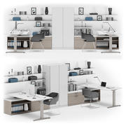 Herman Miller Canvas Private Office v8 3d model