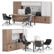 Herman Miller Canvas Private Office v10 3d model