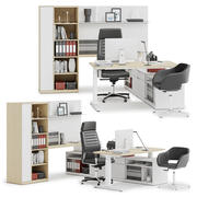 Herman Miller Canvas Private Office v11 3d model