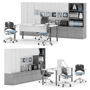 Herman Miller Canvas Private Office v12 3d model