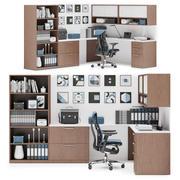 Herman Miller Canvas Private Office v13 3d model