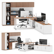 Herman Miller Canvas Private Office v14 3d model