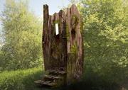 gioco horror modello forest wc 3d model