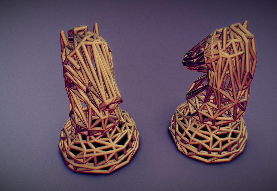 Knight royalty-free 3d model - Preview no. 16