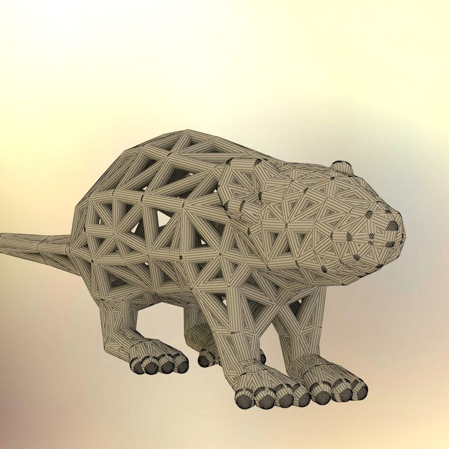 Rat royalty-free 3d model - Preview no. 14