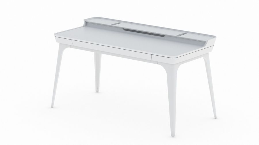Bureau Herman Miller Airia royalty-free 3d model - Preview no. 13