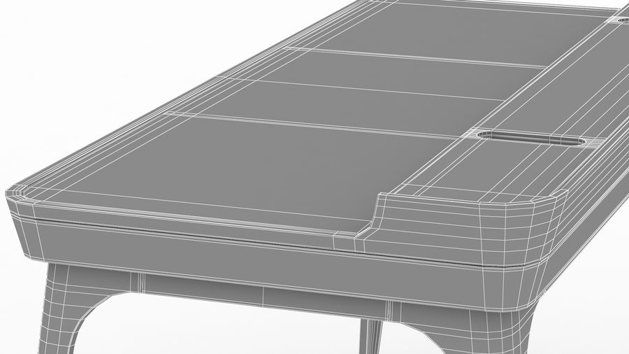 Bureau Herman Miller Airia royalty-free 3d model - Preview no. 40