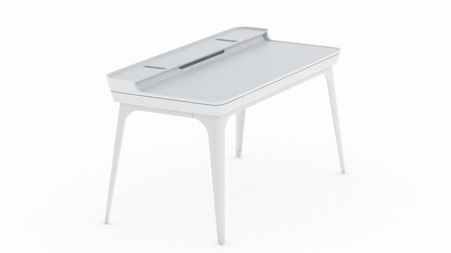 Bureau Herman Miller Airia royalty-free 3d model - Preview no. 5