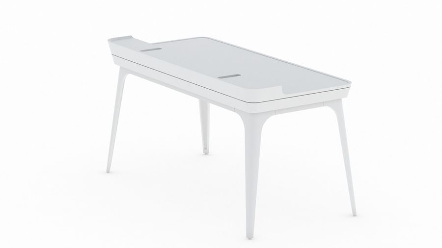 Bureau Herman Miller Airia royalty-free 3d model - Preview no. 8
