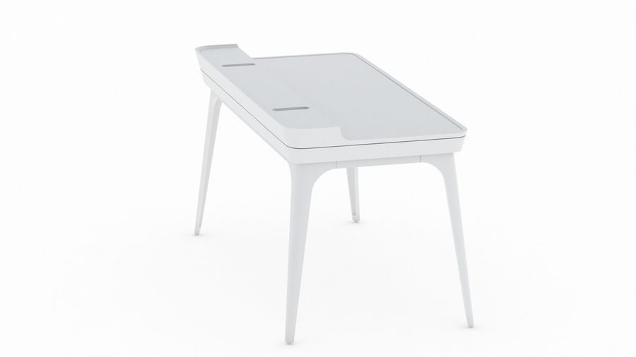 Bureau Herman Miller Airia royalty-free 3d model - Preview no. 7