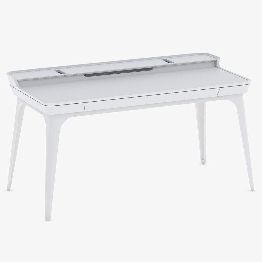 Bureau Herman Miller Airia royalty-free 3d model - Preview no. 1