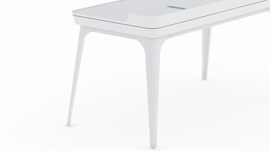 Bureau Herman Miller Airia royalty-free 3d model - Preview no. 20