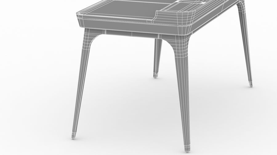 Bureau Herman Miller Airia royalty-free 3d model - Preview no. 41