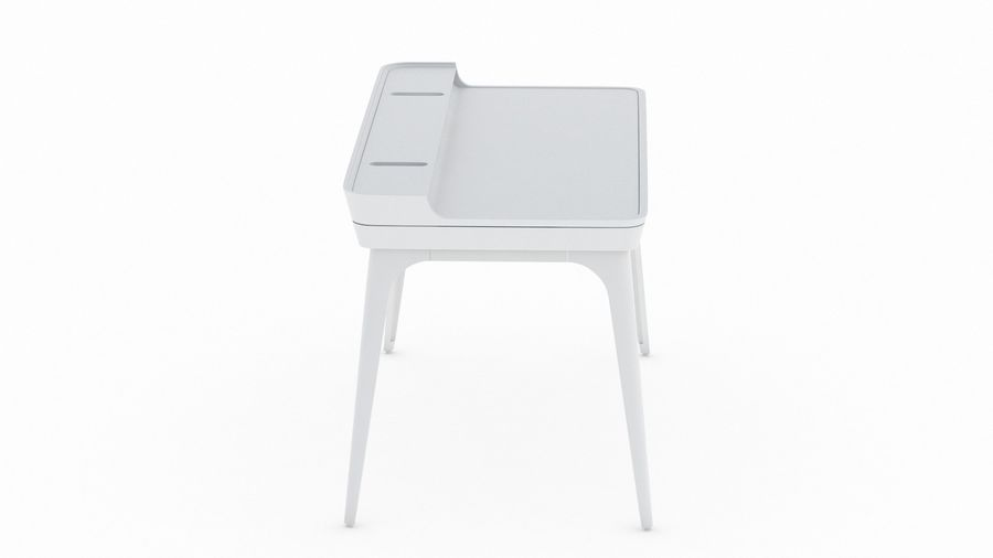 Bureau Herman Miller Airia royalty-free 3d model - Preview no. 6