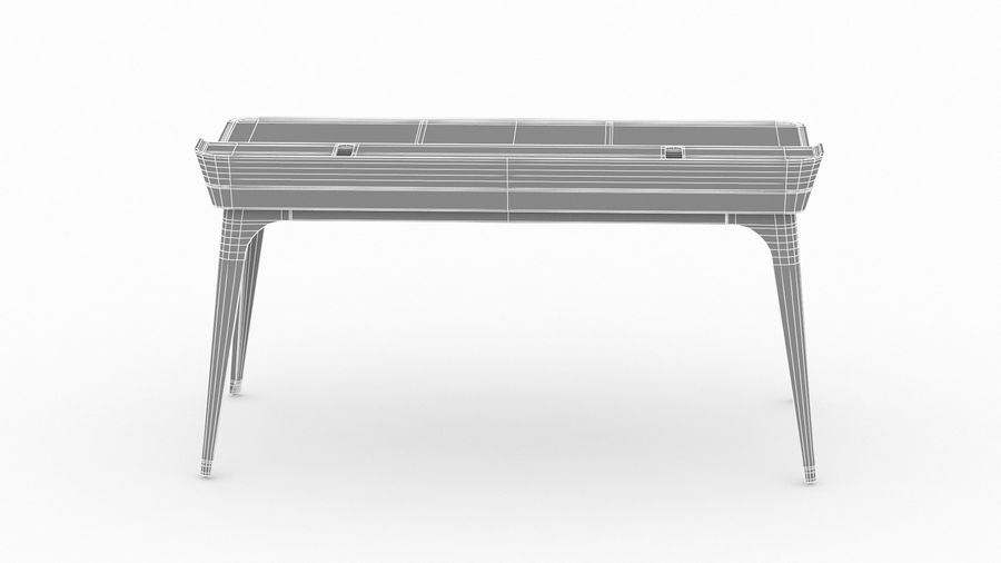 Bureau Herman Miller Airia royalty-free 3d model - Preview no. 28