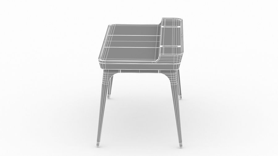 Bureau Herman Miller Airia royalty-free 3d model - Preview no. 31