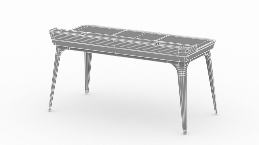 Bureau Herman Miller Airia royalty-free 3d model - Preview no. 27